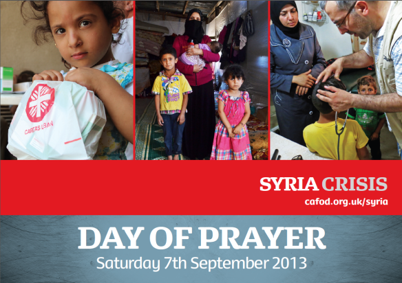 Syria day of prayer