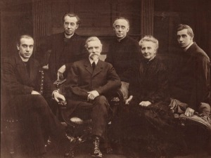 Etcher Petrus John Arendzen  with his wife Epiphania, and four of their sons, all priests - Alphonse, Leo, John and William