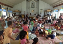 Philippines - Caritas Internationalis - inside the church