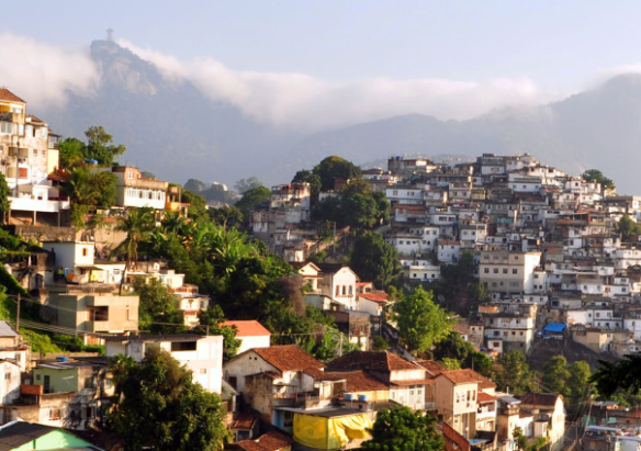 City and favela