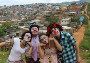 Maristely and her friends bring a sparkle to Christmas in Morumbizinho favela, on the edge of Sao Paulo