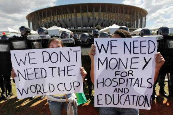 We don't need the world cup