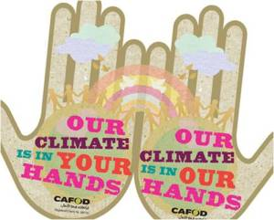Climate change is in our hands