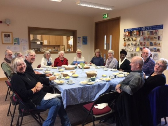 CAFOD Harvest Fast Day soup lunch